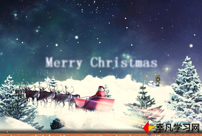 js圣诞节雪花飘舞