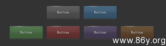 CSS3打造一组质感细腻丝滑的按钮