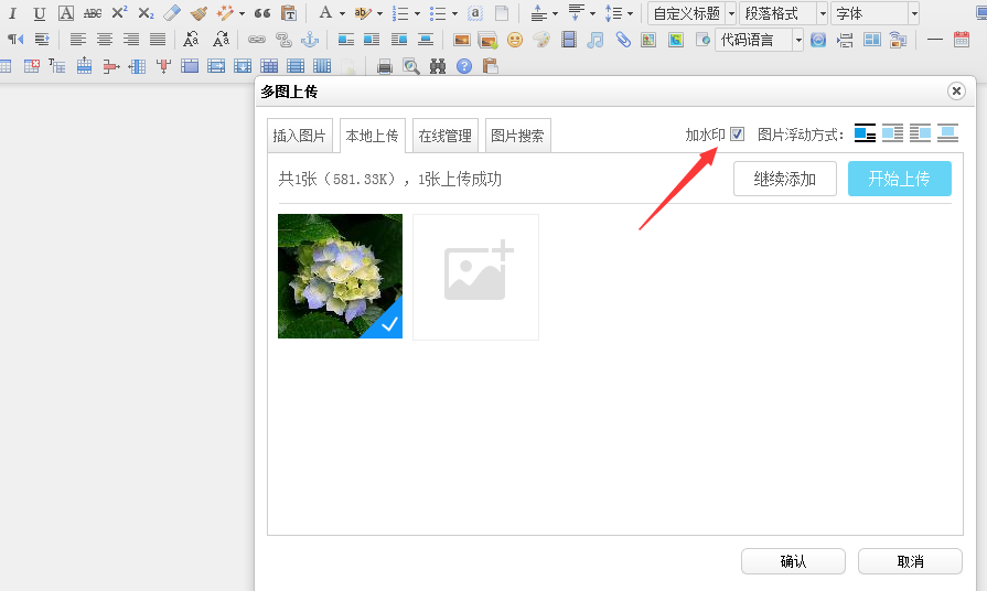 ASP.NET Ueditor上传图片添加水印教程