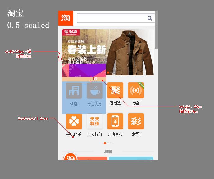 html5移动端页面分辨率设置及相应字体大小设置方式